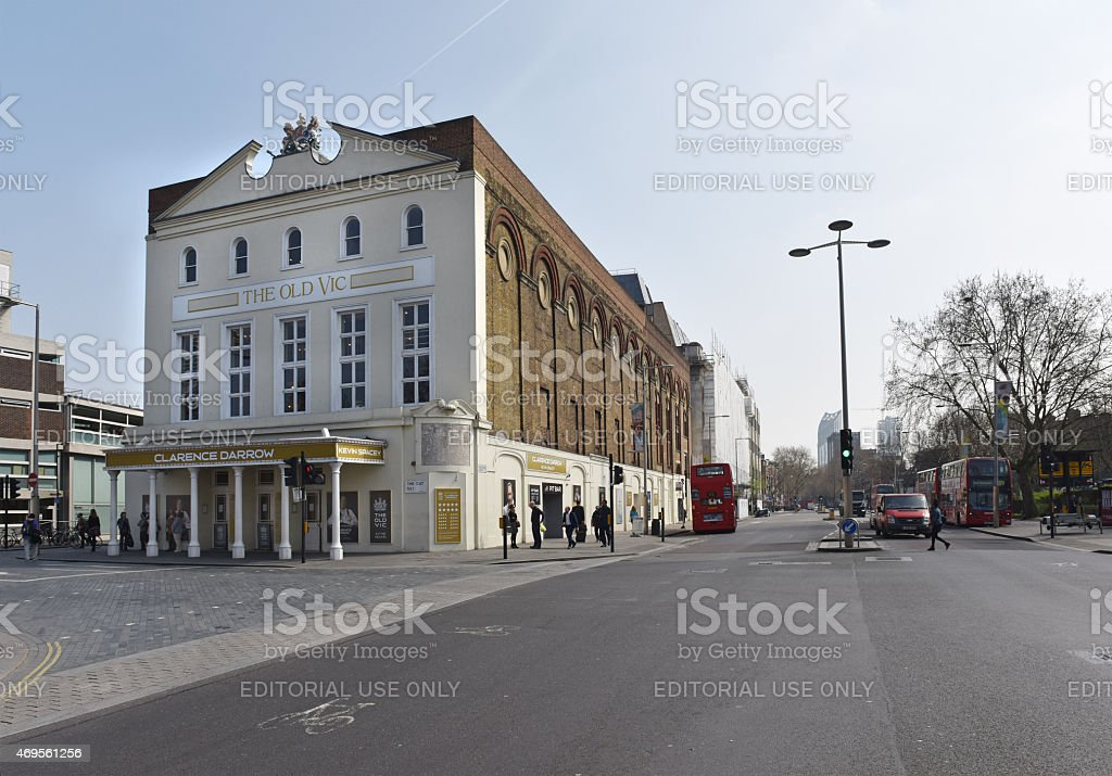 The Old Vic in London stock photo