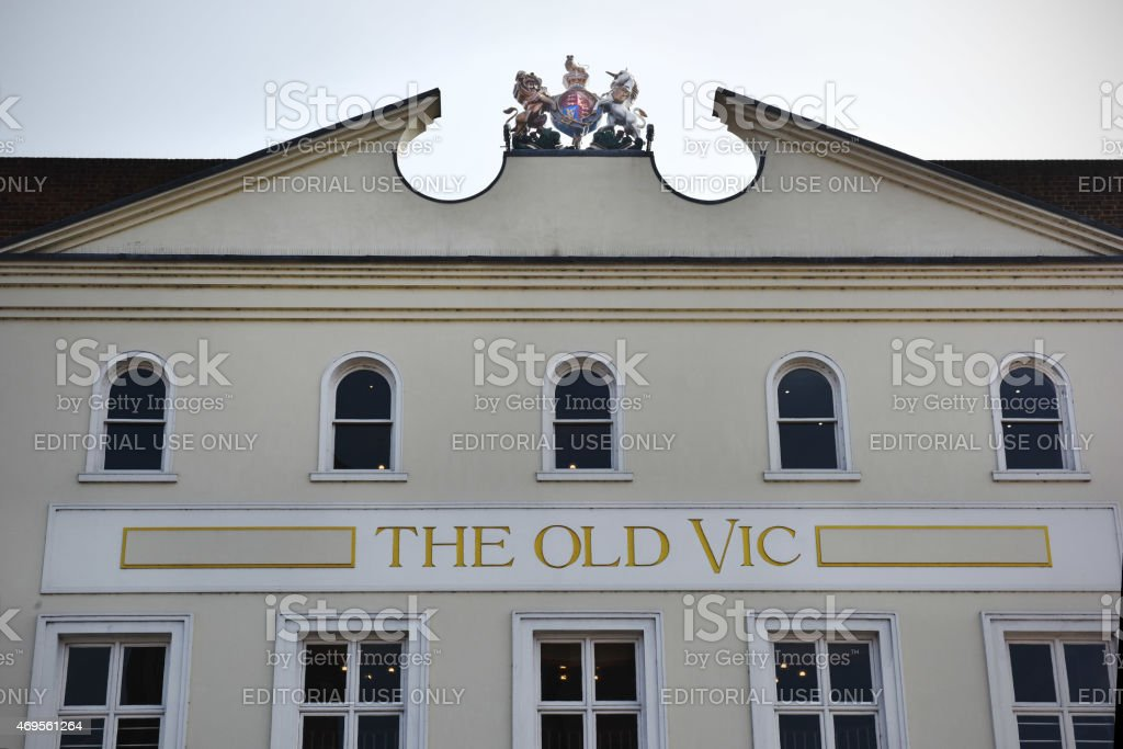 The Old Vic stock photo