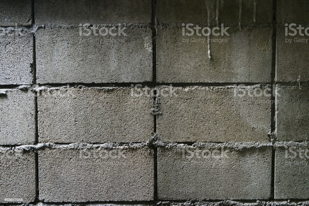 the old wall bricks. stock photo