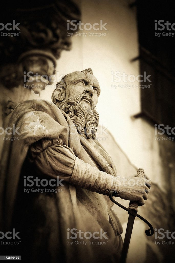 The old warrior royalty-free stock photo