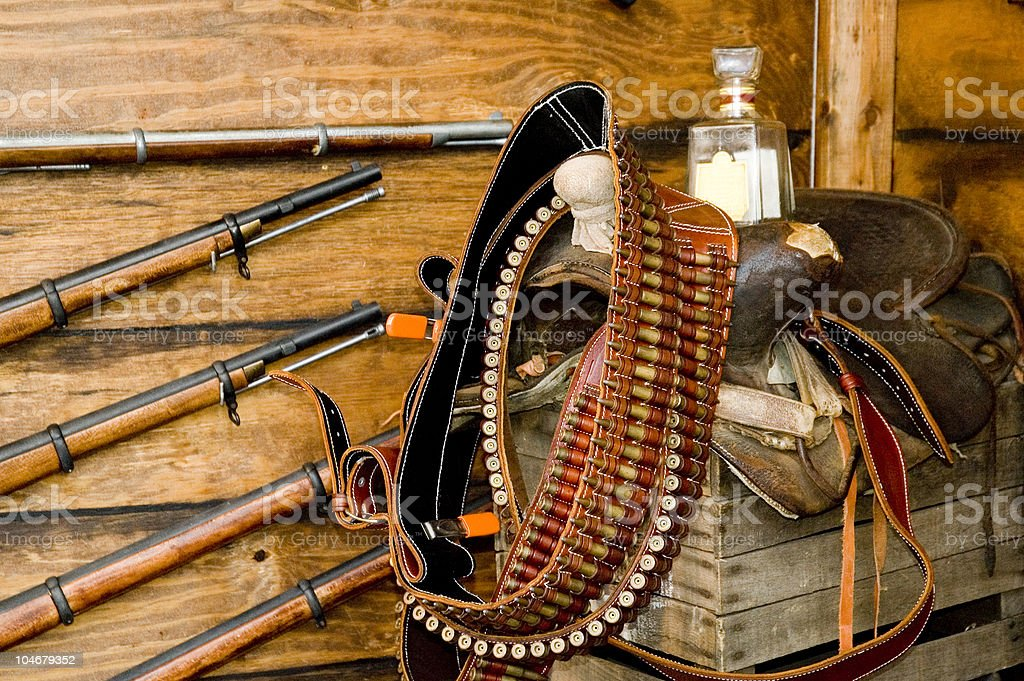 The Old West stock photo