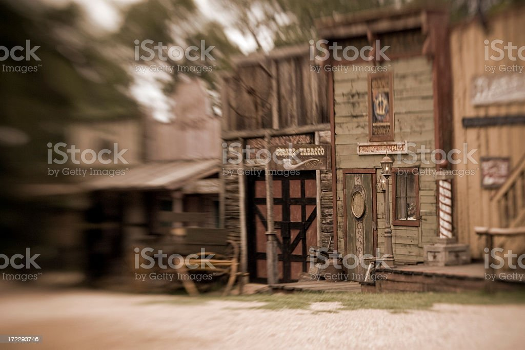The Old West royalty-free stock photo