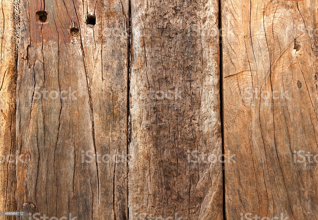 The old wooden wall closeup royalty-free stock photo
