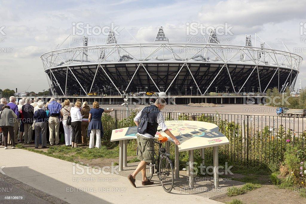 The Olympic Stadium, London royalty-free stock photo