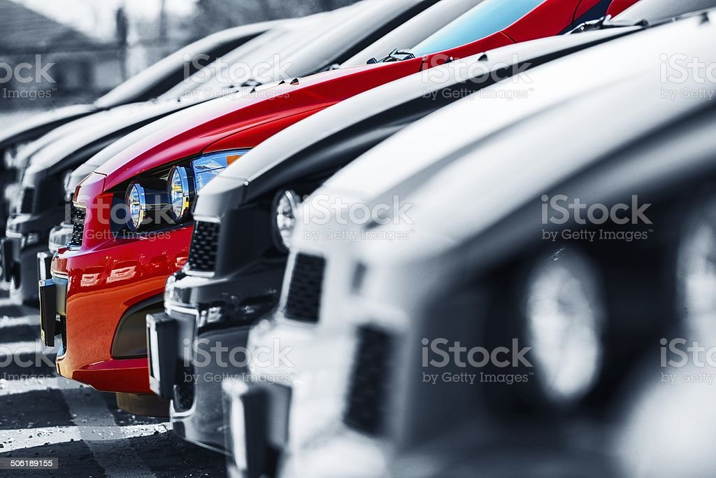 The One. Cars Selection stock photo