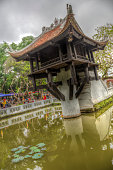 The One Pillar Pagoda, Hanoi, Vietnam