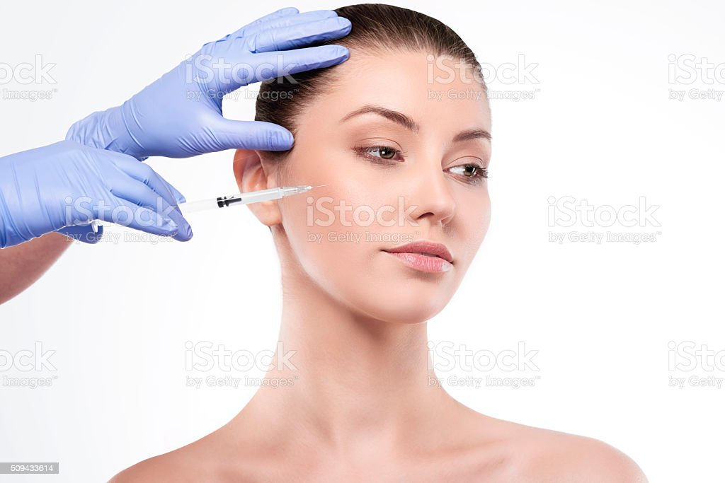 The only one way to stop aging process stock photo