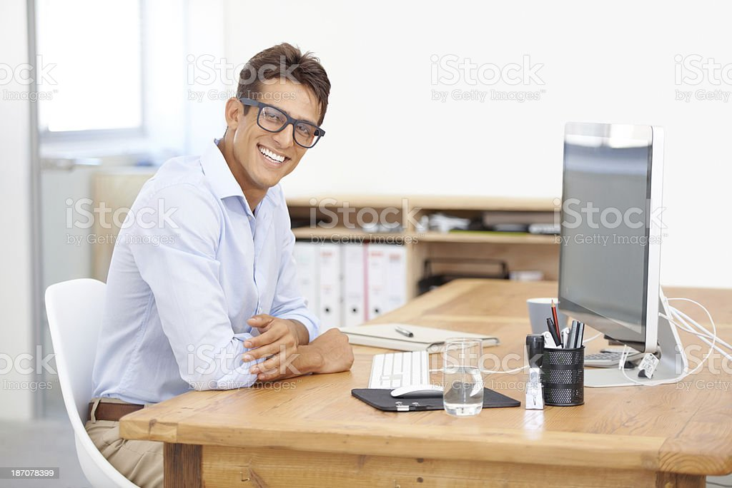 The only way is up for my company royalty-free stock photo