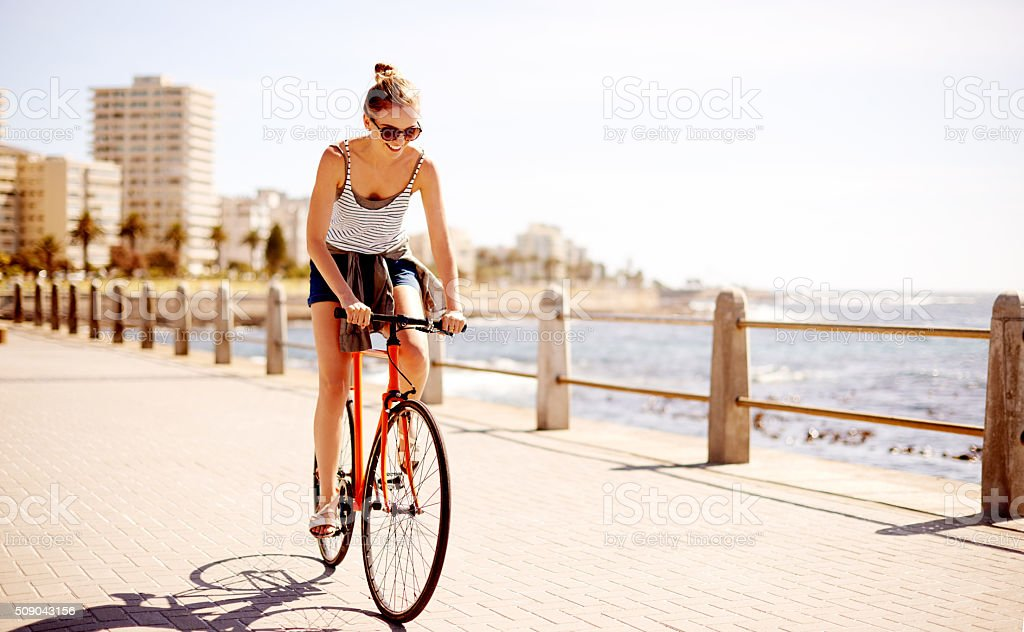 The only way to get around this summer stock photo