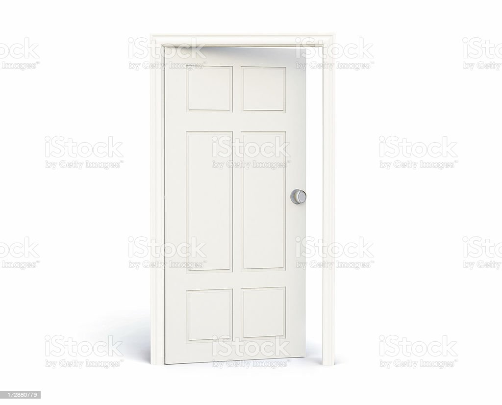 The Open Door stock photo