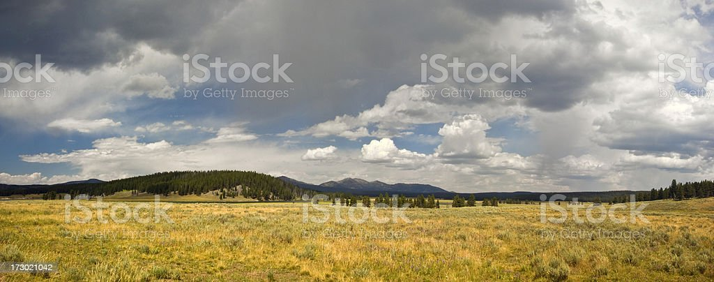 The open plains royalty-free stock photo