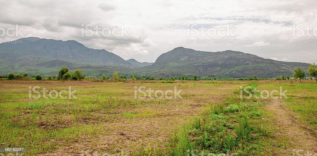 The open Plateau stock photo