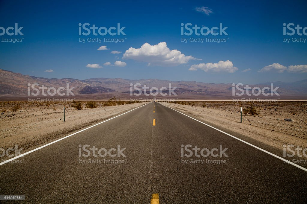 The Open Road stock photo