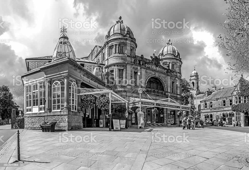 The Opera House in Buxton Derbyshire stock photo