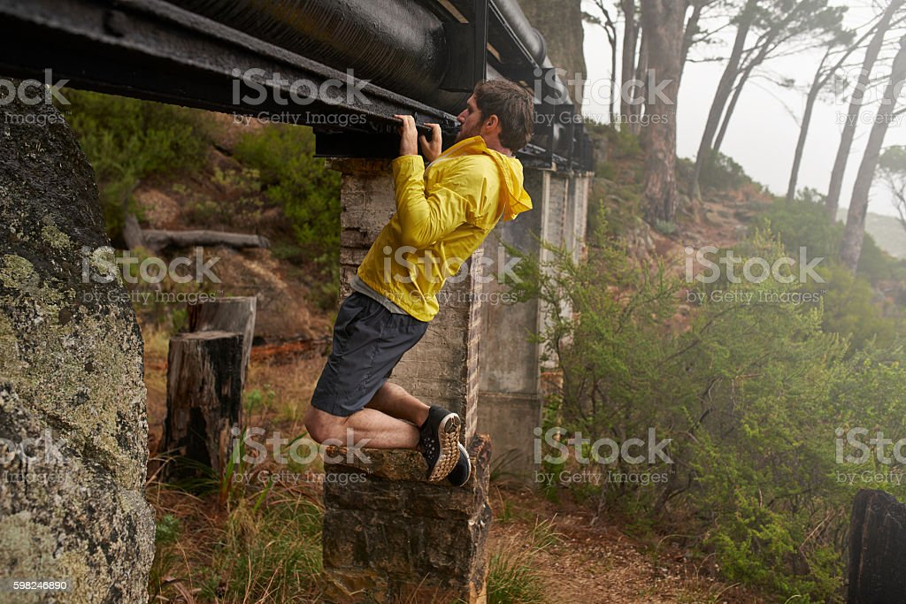 The options for trying something new outside are limitless stock photo