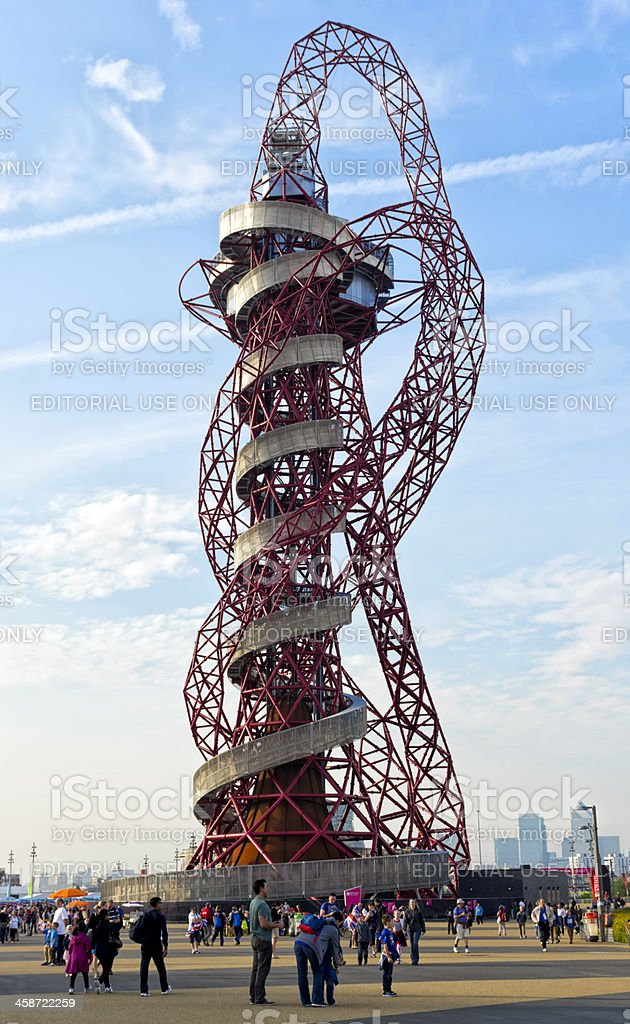The Orbit at London's Olympic Park stock photo