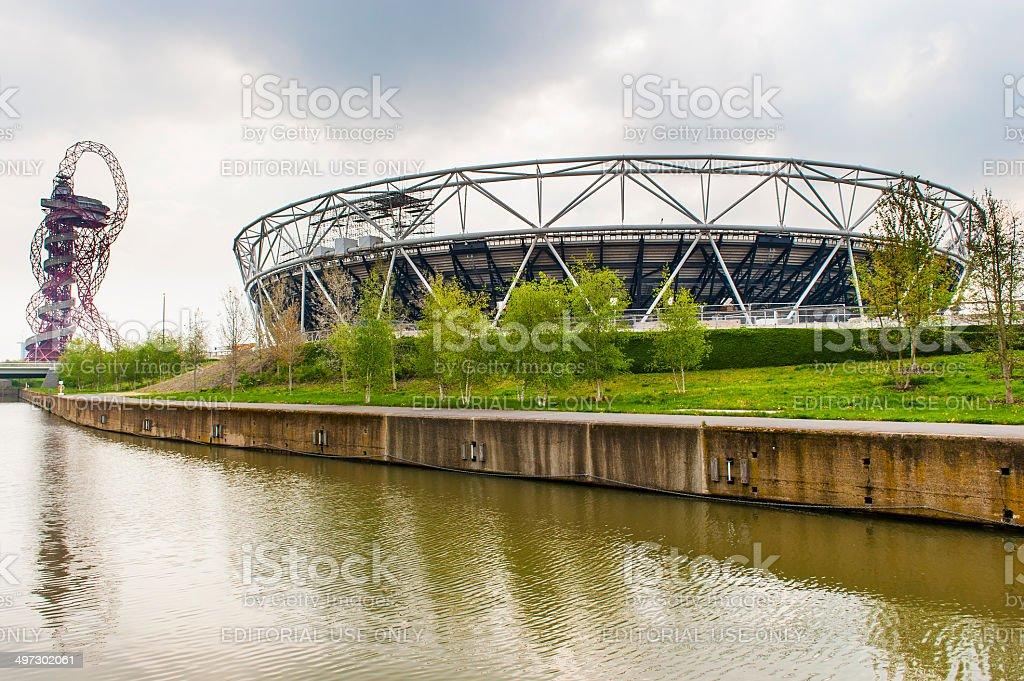 The Orbit - Olympic Park, London stock photo