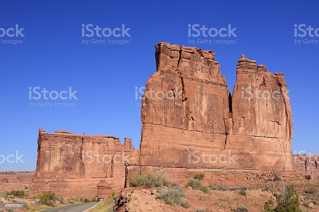 The Organ And Tower Of Babel stock photo