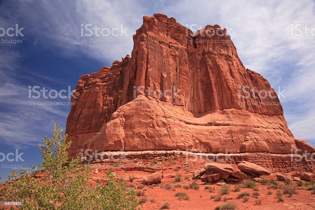 The Organ in Arches National Park stock photo