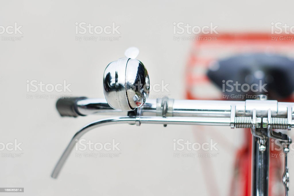 the original bicycle bell stock photo