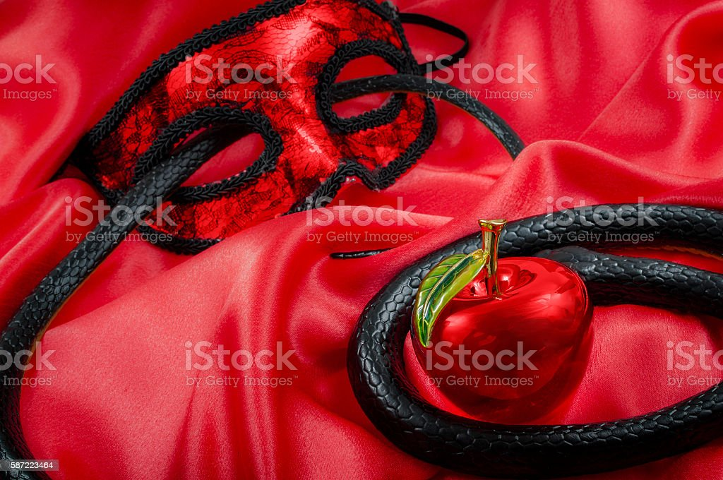 The original sin stock photo