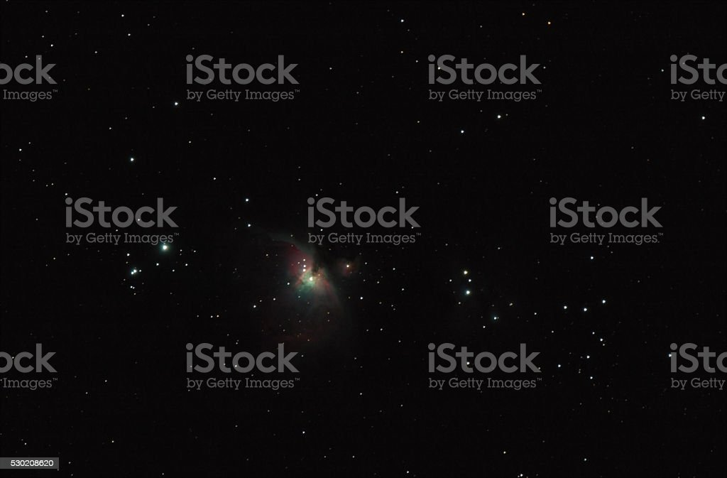 The Orion Nebula stock photo