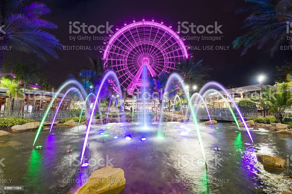 The Orlando Eye stock photo