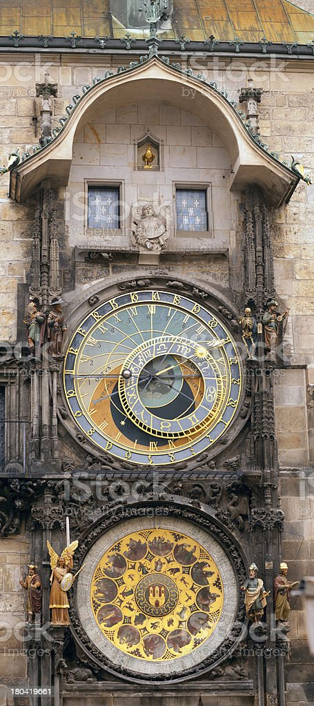 The Orloj watch of Prague royalty-free stock photo