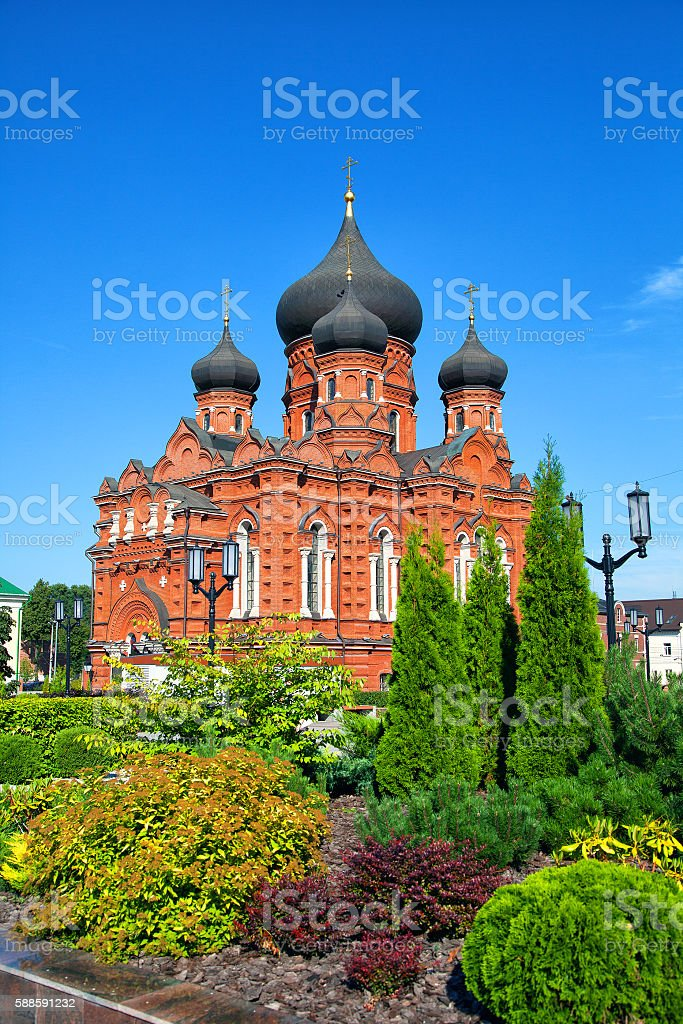 The Orthodox Church in Tula, Russia stock photo