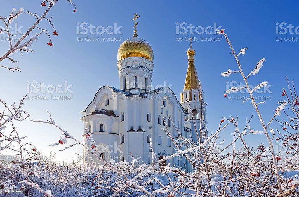 The orthodox church. royalty-free stock photo
