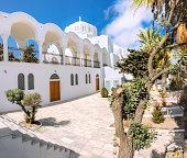 The Orthodox Metropolitan Cathedral in Fira, Santorini
