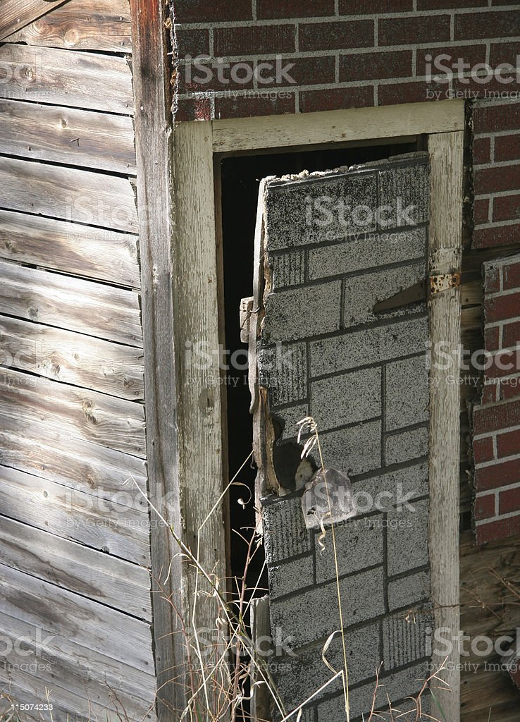 The Outhouse royalty-free stock photo