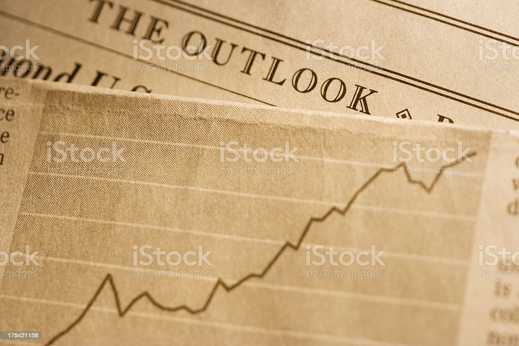 The outlook royalty-free stock photo