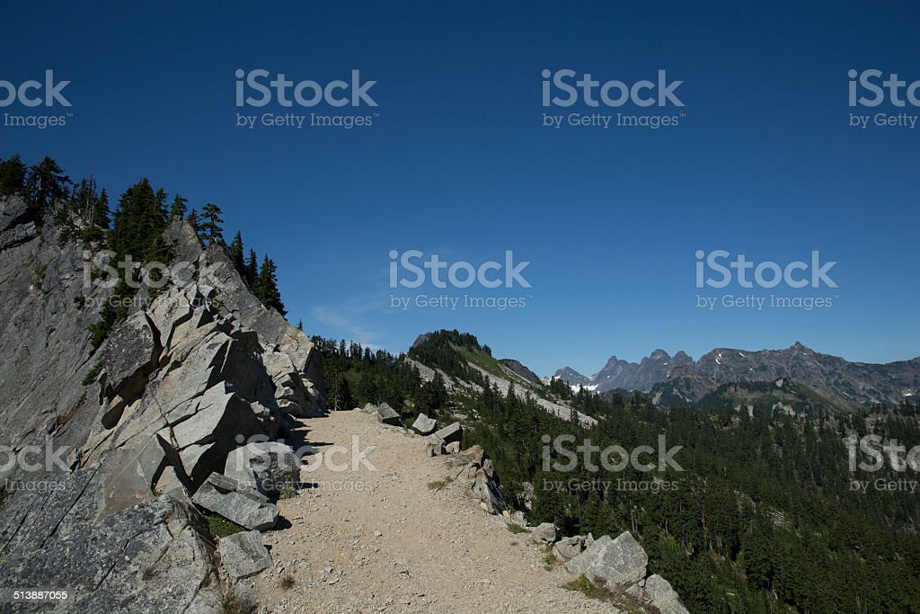 The Pacific Crest Trail stock photo