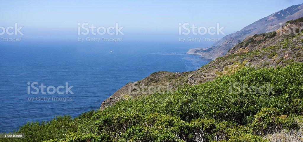 The Pacific Ocean, Big Sur area, California royalty-free stock photo