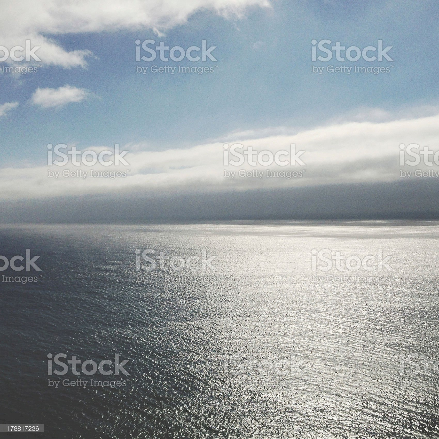 The Pacific Ocean royalty-free stock photo