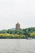 The pagoda of west lake