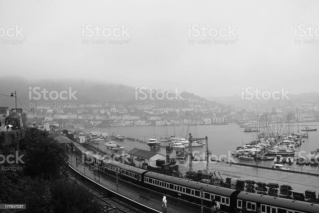 Il Paington e il Dartmouth Steam treno foto stock royalty-free