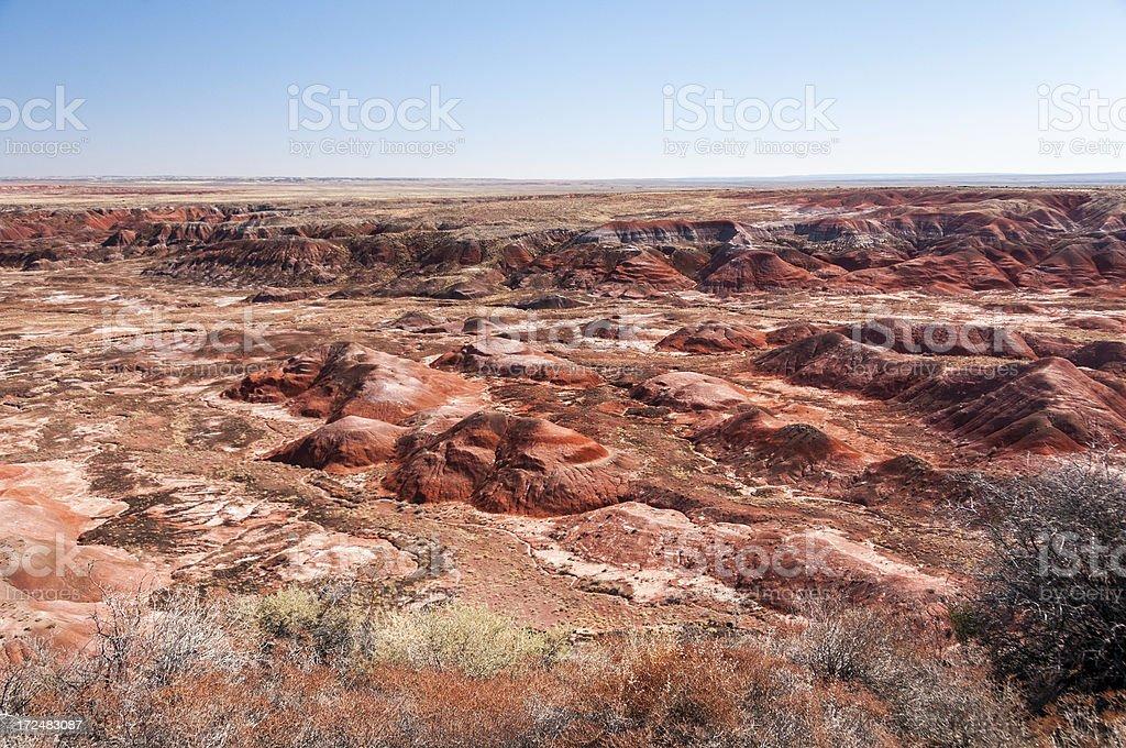 The Painted Desert in Arizona royalty-free stock photo