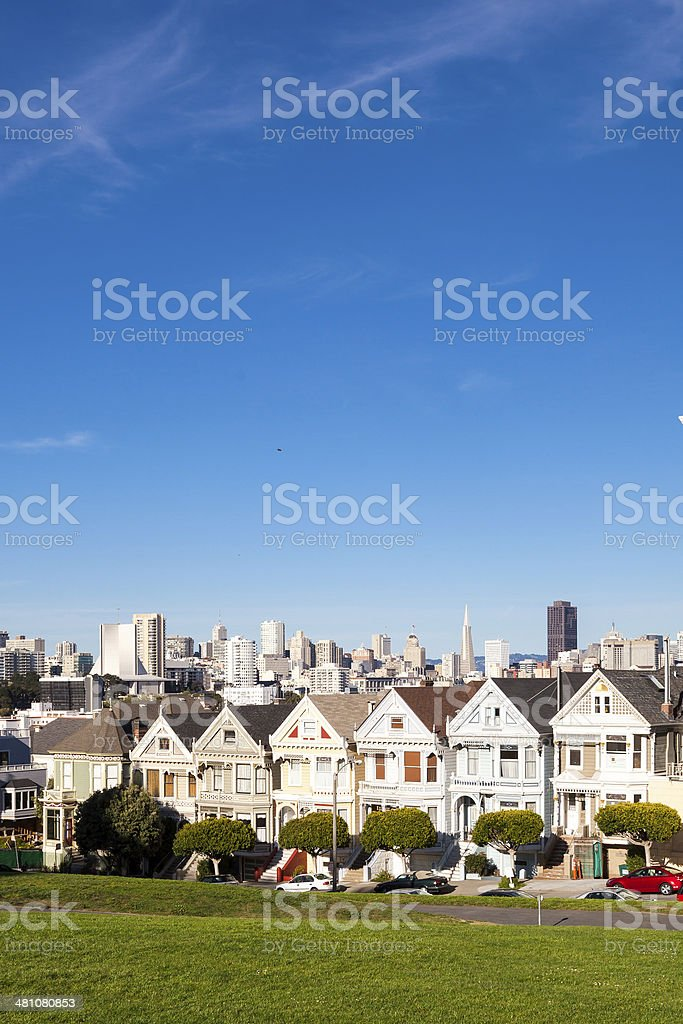 The Painted Ladies royalty-free stock photo
