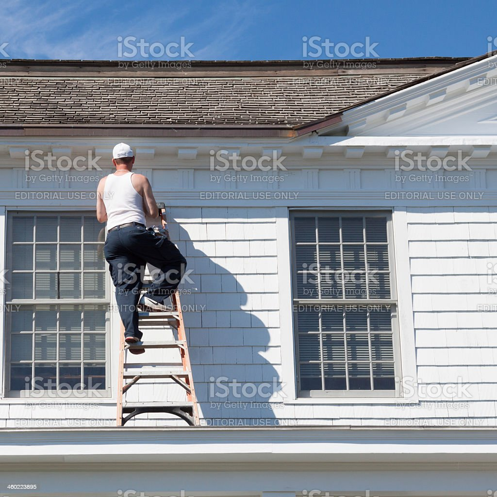 the painter royalty-free stock photo