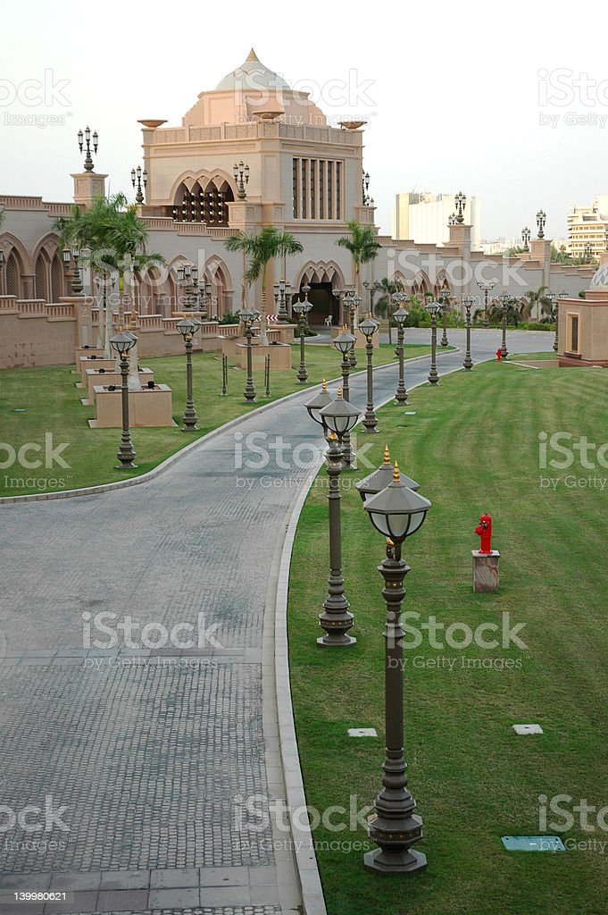 The Palace(al qaser) Abu dhabi royalty-free stock photo