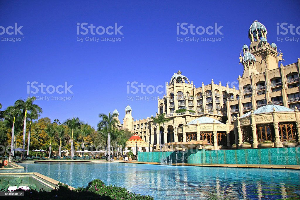 The Palace Lost City royalty-free stock photo