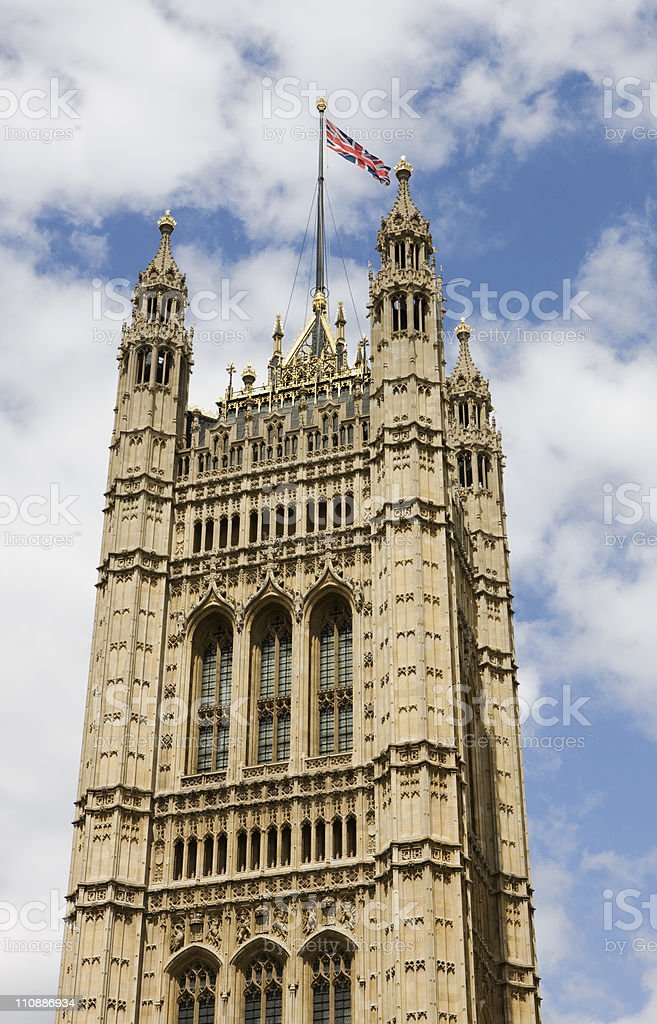 the Palace of Westminster royalty-free stock photo