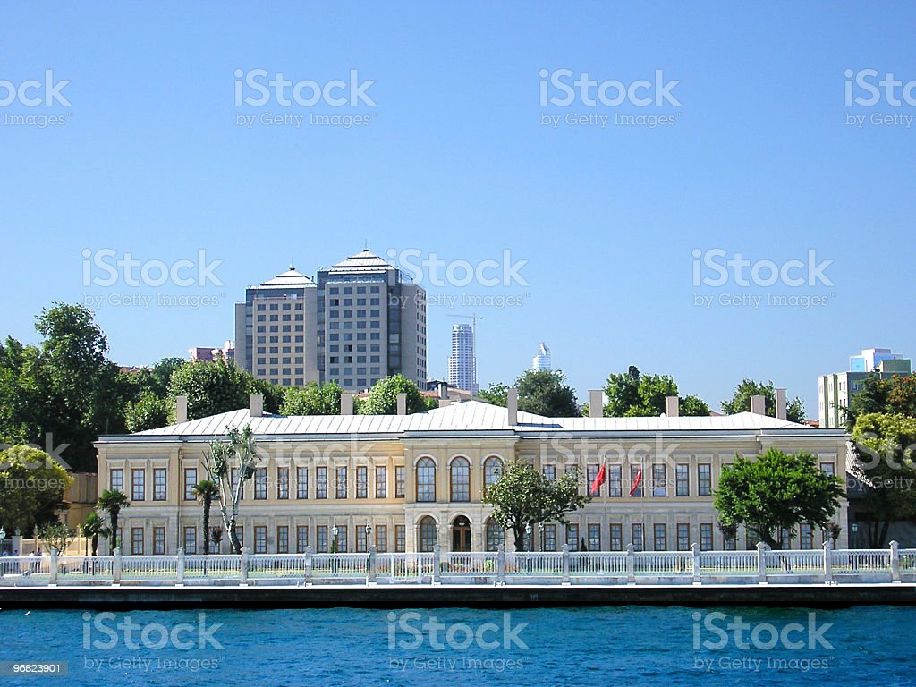 The Palace stock photo