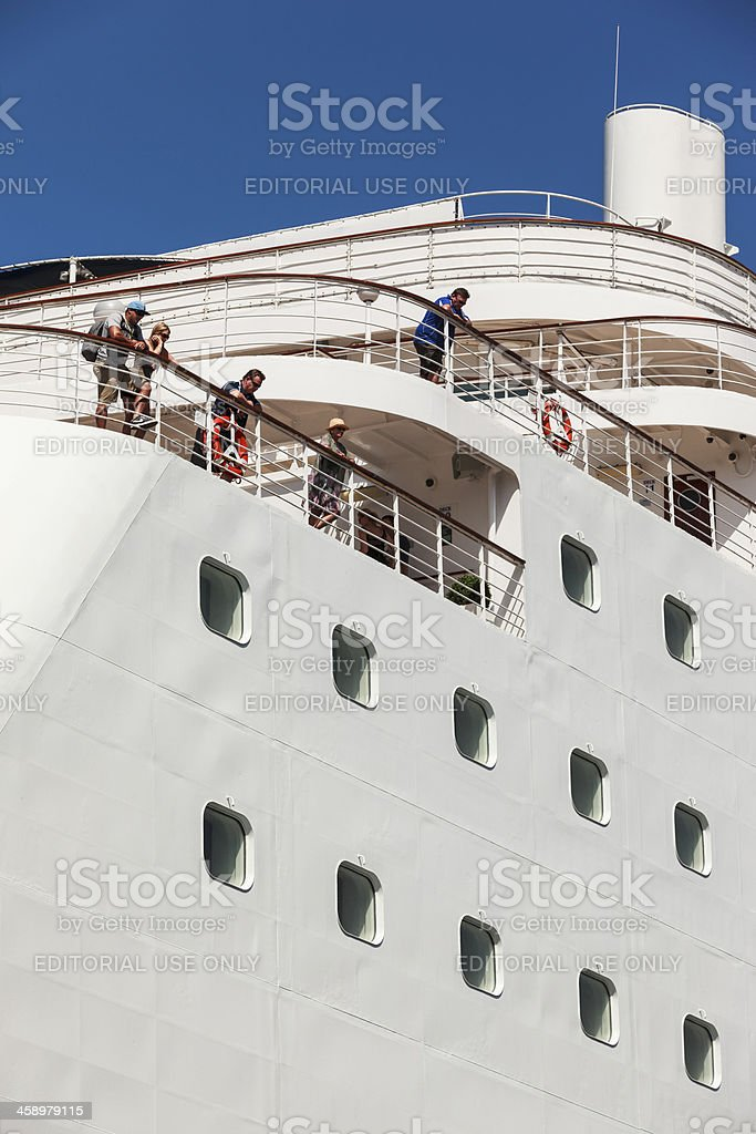 The P&O Pacific Jewel royalty-free stock photo