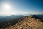The panoramic view from Olympos Mountain - Tahtali