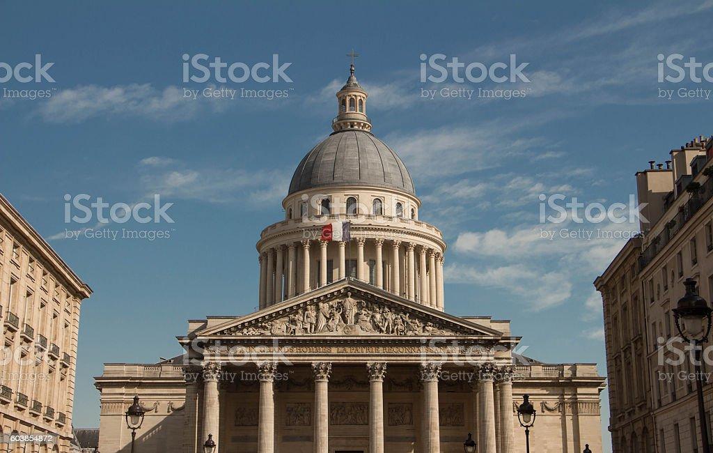 The Pantheon, Paris, France. stock photo