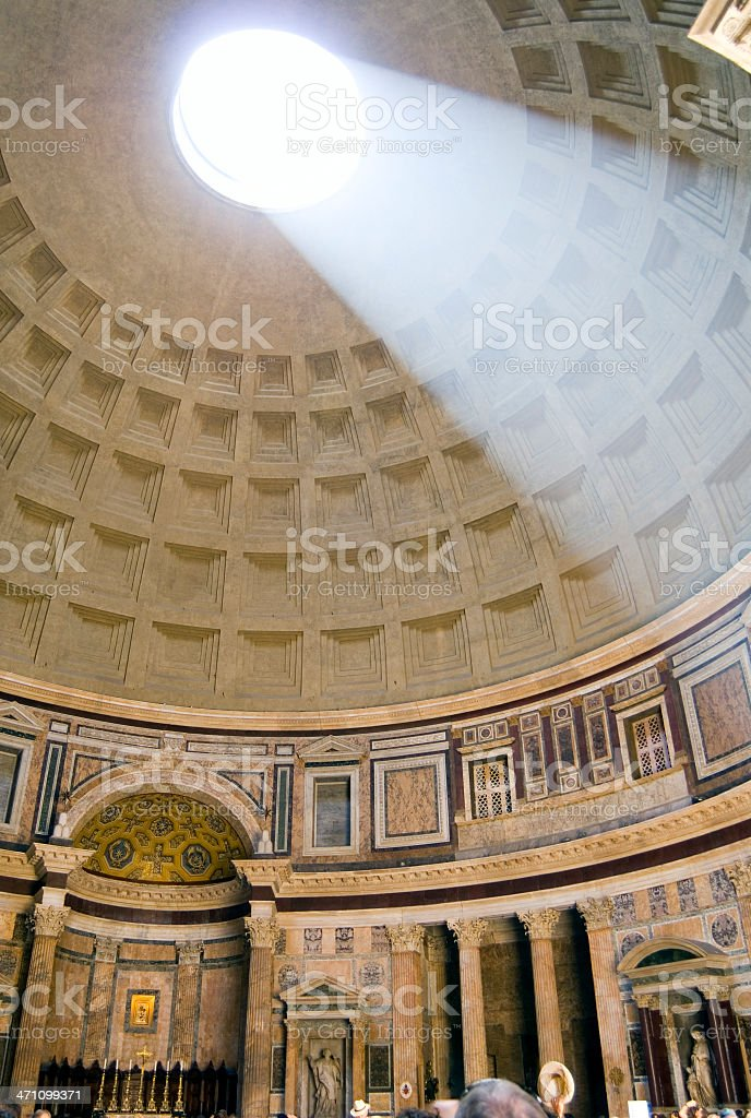 The pantheon. royalty-free stock photo