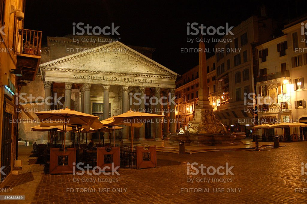 The Pantheon Rome stock photo
